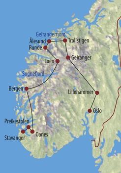 Norwegen Zwischen Fjells Und Fjorden Nordeuropa Expeditionen