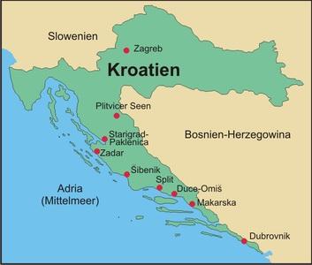 Kroatien Berge Schluchten Und Kultur Suedosteuropa Expeditionen